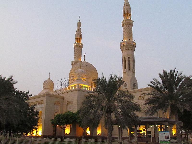 mosquee jumeirah dubai