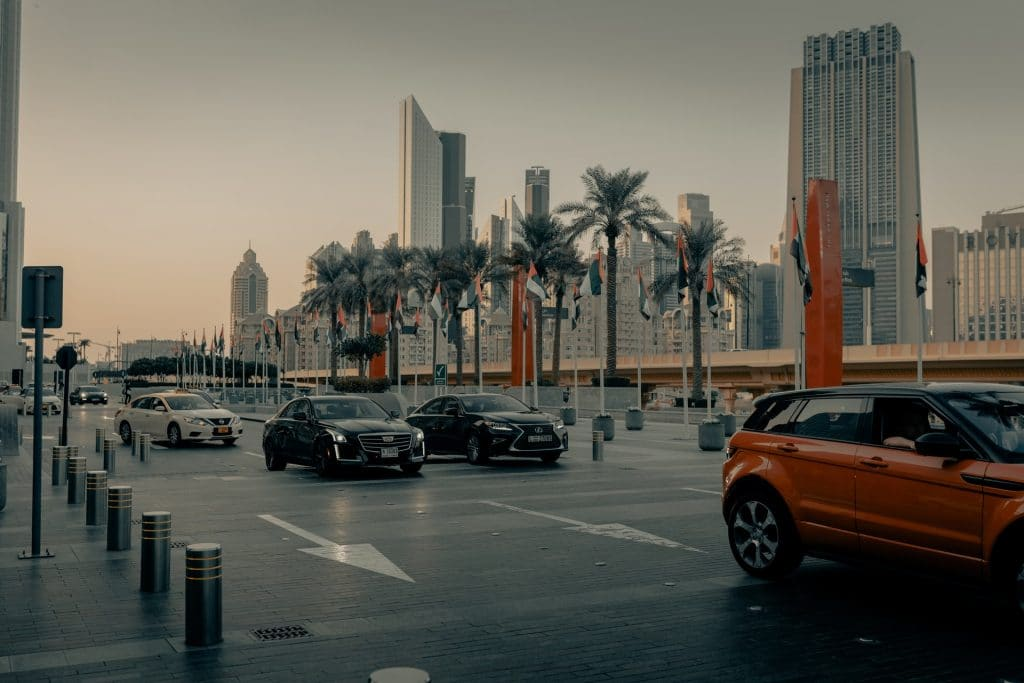 Parking à Dubaï